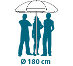 Sonnenschirme bestellen mit Druck Werbeschirme Shop Werbung Gastronomie