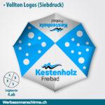 Badi Freibad Sonnenschirme Druck Druckerei bestellen Angebot