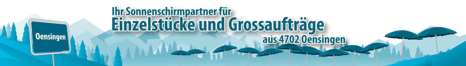 Wir liefern Schattenspender - wir sind Werbesonnenschirme.ch