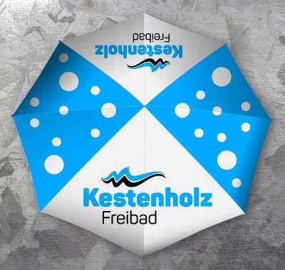 Werbung mit Sonnenschirme - Die Schirmmacher Werbesonnenschirme.ch